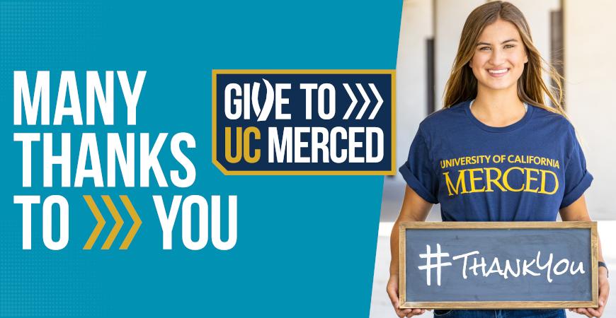 Give to UC Merced