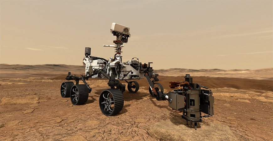 Mars Rover Banner