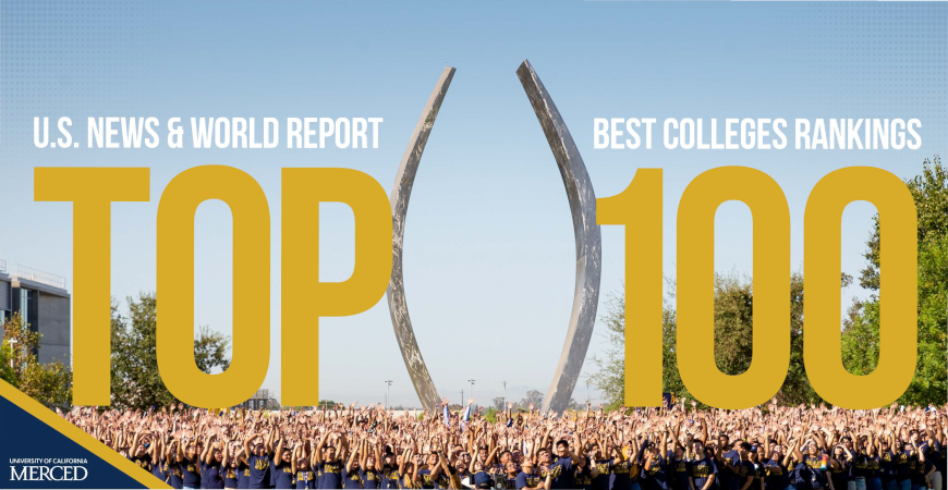 UC Merced Moves into Top 100